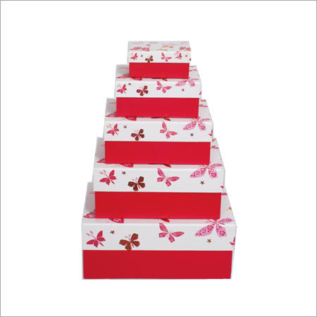 Printed Paper Storage Boxes Length: Various Length Are Available Inch (In)