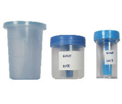 Various Colors Are Available Urine And Stool Specimen Container