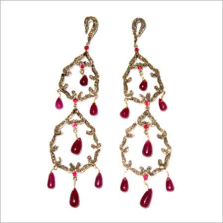 Womens Designer Victorian Earrings