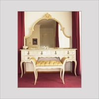 Handcrafted Wooden Dressing Table