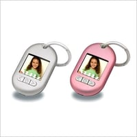Keychain DPF With Alarm Clock And Calendar