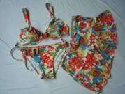 Ruffled Cove Up Bikini