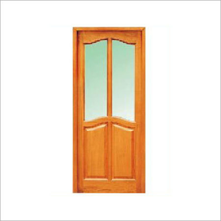 Various Colors Are Available Two Panel Glass Door