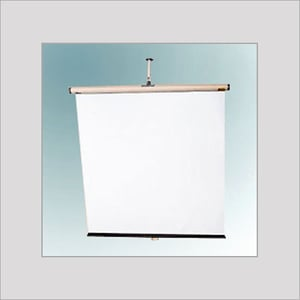 Wall Mounted Projector Screen