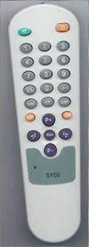 Battery Operated Plastic Remote Control