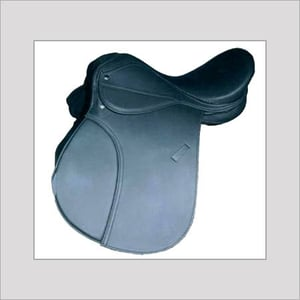 Synthetic Jumping Saddle with Softy covers