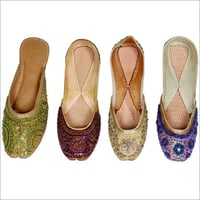 Traditional Ladies Embroidered Juttis