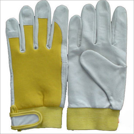 Pure Leather Working Gloves