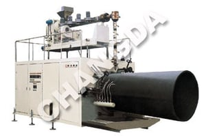 Large Diameter Hollow Wall Twin Pipe Production Lines