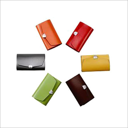 Multicolor Ladies Leather Wallets