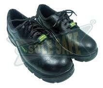 \\011 PU Sole Derby CH4 Leather Safety Shoes