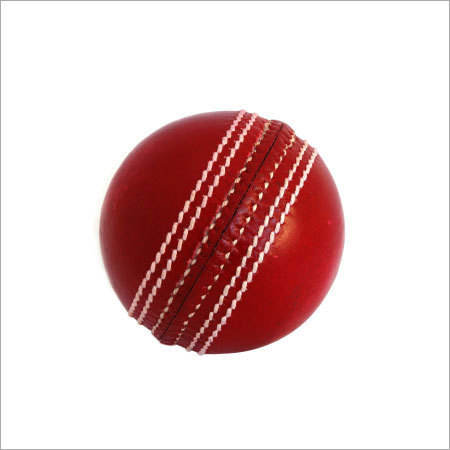 Premium Red Leather Cricket Ball At Best Price In New Delhi