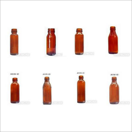 Customized Amber Glass Bottles