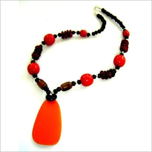 Exclusive Resin Bead Necklace
