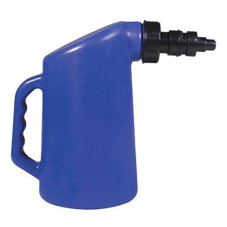 Auto Shut Off 2 Quart Golf Cart Plastic Water Filler Bottle