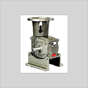 Worm Gearbox with Motor Flange
