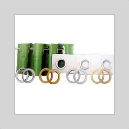 Silver And Golden Perfect Finishing Eyelet Tape