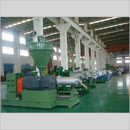 Green Planetary Roller Extruder Machine