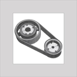 TIMING BELT & PULLEY WITH TAPER LOCK BUSH