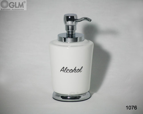 Lotion And Soap Ceramic Dispenser