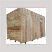 Wood Heavy Machine Packing Cases