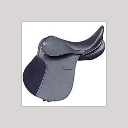 Black Impeccable Finish English Saddle