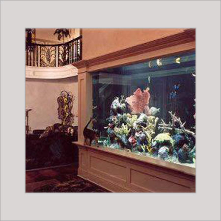 Good Quality Wall Fitted Aquarium With Cordless Water Pump