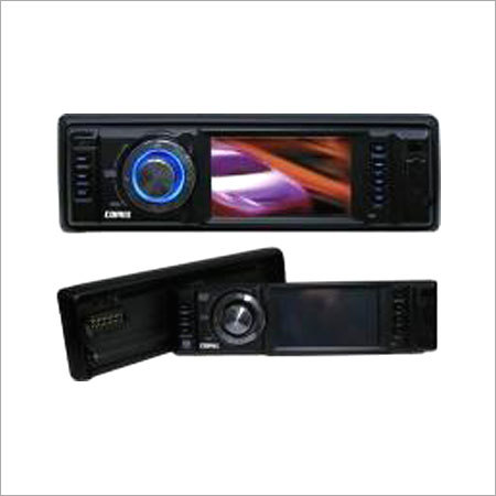 """1-Din DVD Headunit with 3"""" Touch Panel LCD Monitor"""