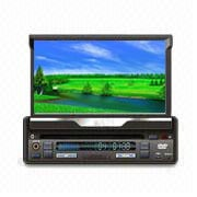 1 DIN in-Dash Car DVD Player with Touch Screen