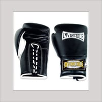 Black Color Leather Boxing Glove