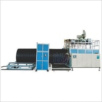 HDPE Large Diameter Hollow Wall Winding Pipe Extrusion Line