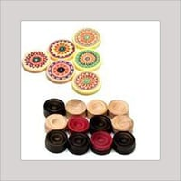 Carom Board Stickers And Pieces