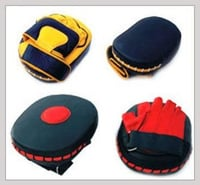 Oval Shape Boxing Coach Gloves