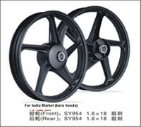Rust Free Motorcycle Alloy Wheel