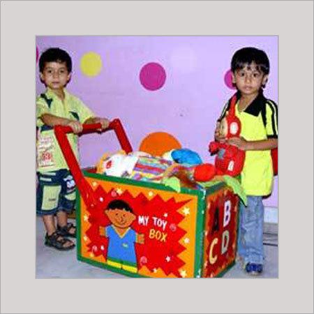 Sports Trolley Toy