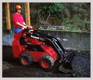 Earth Moving Landscaping Machine