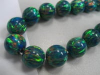 10mm Synthetic Opal Beads