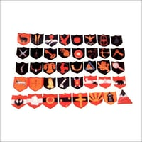 Fabric Made Formation Military Badges