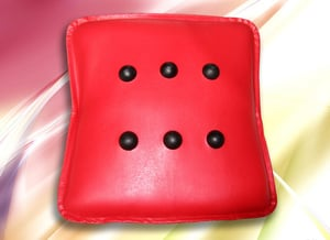 Healthcare Massager Pillow (Red)