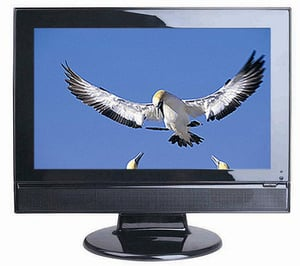 Wide Screen LCD Television