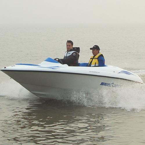 Motor Boat with 230HP Suzuki Inboard Engine