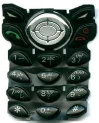 Silicone Cell Phone Keypad
