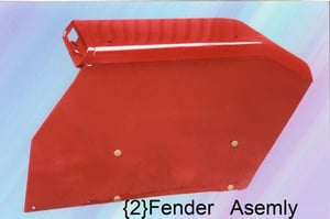 Tractor Fender Assembly