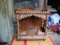 Wooden Inlaid Temple