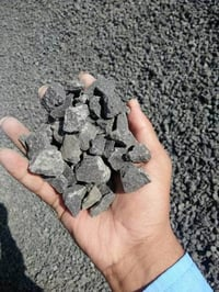 Indian Bulk export of Black Crushed Construction aggregate Stone Chips / black