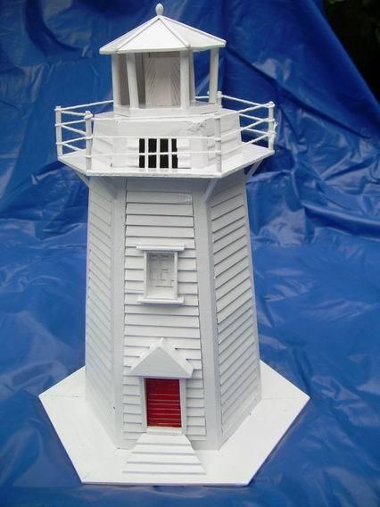 Miniature Wooden Building Model