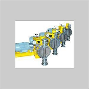 Hydraulically Actuated Diaphragm Type Metering Pump
