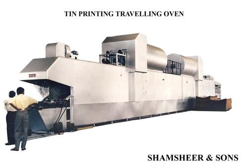 Tin Printing Traveling Oven