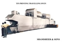 Tin Printing Traveling Oven