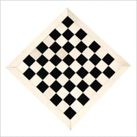 FLAT LEATHER CHESS BOARD